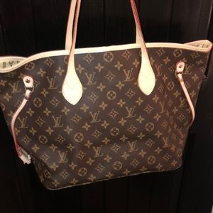 Used Louis Vuitton neverfull purse ❤️